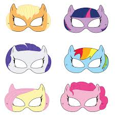 horse mask halloween city my little pony printable masks by hungrypandasupplies on etsy