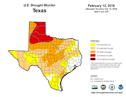 Arlington Tx Map United States Drought Monitor U003e Current Map U003e State Drought Monitor