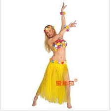 Hula Halloween Costume Skirt Fringe Picture Detailed Picture Halloween