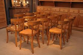 Vintage Bistro Chairs Vintage Set Of 14 Thonet Bistro Chairs Sold