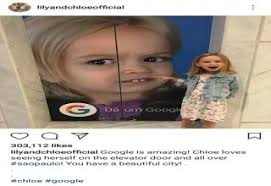 The Chloe Meme - awkward face girl from the meme side eyeing chloe becomes the face