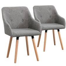 Esszimmerstuhl Grau Stoff 6 Esszimmerstühle Mit Stoffbezug Design