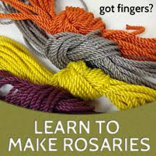 free rosaries make all twine knotted rosaries or get a free rosary rosary army