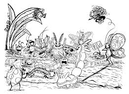 caterpillar 95 animals u2013 printable coloring pages