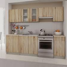 Preiswerte K Henzeile Einbauküche Küchenzeile Küchenblock 240 Cm
