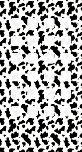 black and white cow pattern shelf wallpaper sc iphone6splus