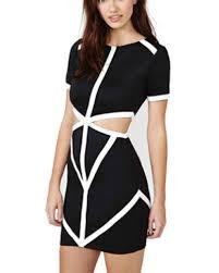 black cut out dress black cut out waist dress dr0150157