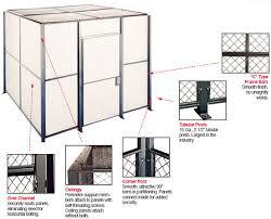 ez wire wire partition wire partitions woven wire enclosure