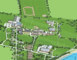 Map Of Newport Ri St George U0027s Campus Tour
