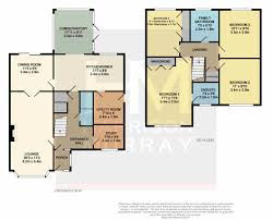 Conservatory Floor Plans Spinner Close Broughton Astley Leicester Le9 4 Bed Detached