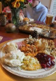 impromptu thanksgiving table setting