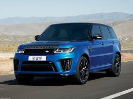 range rover sport land rover range rover sport svr 2018 pictures information