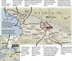 south ossetia map news cartographers map russia war kelso kelso s corner