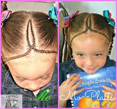 cornrows hairstyle with part in the middle easy cornrow design hairstyle tutorial