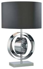 Drum Accent Table by Lighting Stunning Dark Grey Drum Contemporary Table Lamp With