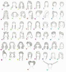 names of anime inspired hair styles names of anime hairstyles hairstyles ideas