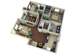3d virtual floor plan visualization2 storey house design simple