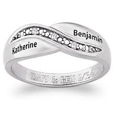 name rings silver images 176 best jewelries images couple rings wedding jpg