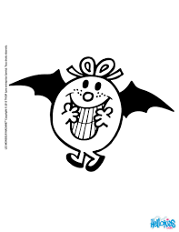 little miss bat coloring pages hellokids com