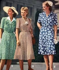 1940s dresses women s 1940 s day dress history
