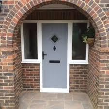 Composite Exterior Doors Inspiring Composite Doors For Lasting Wood Effect Front In