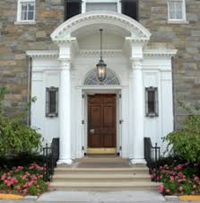 house front door lawton chiles international house stone house fogarty