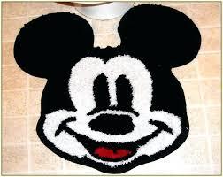 Minnie Mouse Bathroom Rug Idea Mickey Mouse Bathroom Rug Or Mickey Mouse Bathroom 78 Mickey