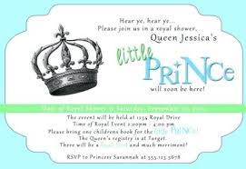 a new prince baby shower luxury royal prince baby shower invitation template and royal