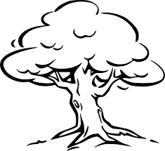 Oak Tree Coloring Page For Kids Color Luna Tree Coloring Pages