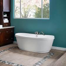 Bathtub Jacuzzi Freestanding Bathtub Oval Acrylic Hydrotherapy Bravo