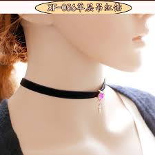 leather bow necklace images New fashion jewelry black terciopelo leather bow choker diy jpg