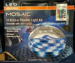 dsi indoor outdoor led flexible lighting strip costco led lights costco led outdoor lights costco led christmas