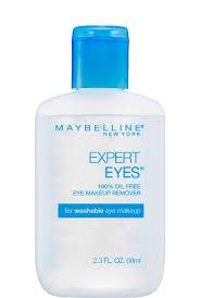 expert eyes 100 oil free eye makeup remover maybelline