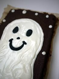 what kate baked and baby halloween chocolate ghost cake