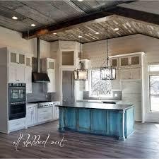 blue chalk paint kitchen cabinets key west blue kitchen island general finishes design center