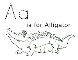 the letter a coloring page tracing the letter a free printable activity shelter