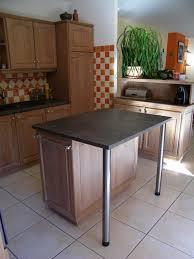 table meuble cuisine decoration cuisine ilot
