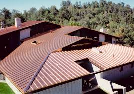 Metal Roof On Houses Pictures by Copper Standing Seam Metal Roof Koukuujinja Net