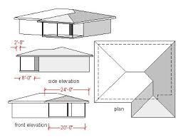 Hipped Roof House Plans 68 Best Roof Images On Pinterest Timber Frames Carpentry And