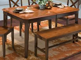 latitudes ginger african chestnut cut corner dining table from new