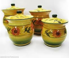 sunflower canisters for kitchen tuscan kitchen canisters top tuscan kitchen canisters sets tuscan