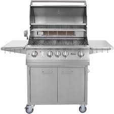 lion 32 inch stainless steel propane gas grill on cart the