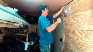 installing an extra light 6x10 enclosed trailer conversion