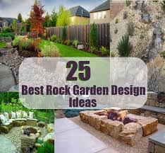 rocks in garden design best rock garden design ideas diycozyworld home improvement