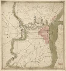 Map Of Philadelphia Pennsylvania by Philadelphia Map 1778 Encyclopedia Of Greater Philadelphia