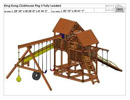 Rainbow Play Systems King Kong Clubhouse Pkg Ii Fully Loaded 90c