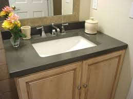 Granite Vanity Tops With Undermount Sink Fancy Black Granite Bathroom Vanity Top With Rectangular