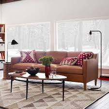 west elm leather sofa reviews 37 best cushions on leather sofa images on pinterest living room
