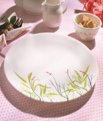 Buy Corelle Dinner Set Online India Corelle India Impressions Breeze 6 Pcs Dinner Plate Buy Online At