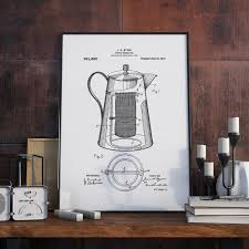 how to hang art prints 15 coffee posters to hang above your coffee station contemporist